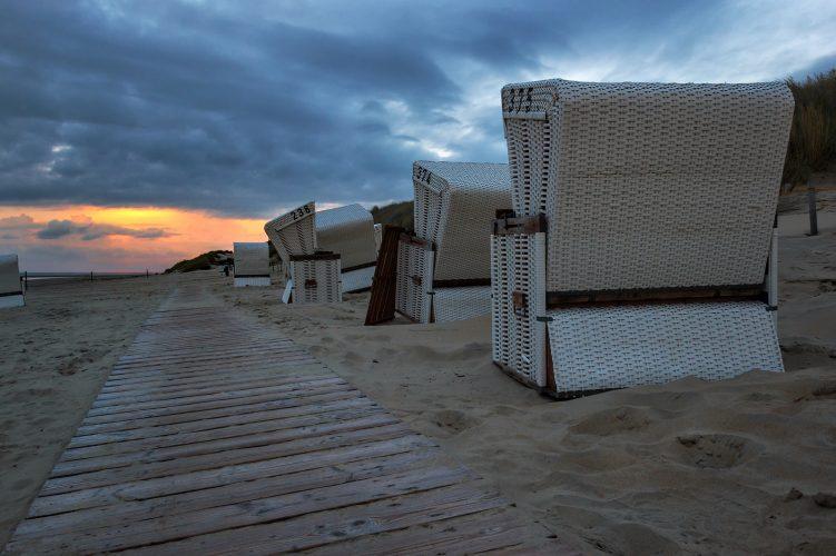 Strandkorb auf Baltrum